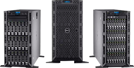 Башенные серверы Dell PowerEdge